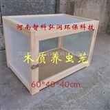 木质养虫笼专注昆虫饲养四周纱网正面玻璃